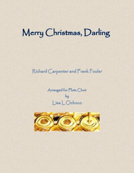 Merry Christmas, Darling for Flute Choir