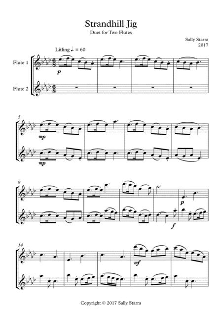Strandhill Jig - Flute Duet
