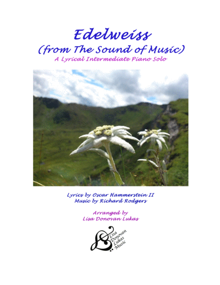 Edelweiss - A Lyrical Intermediate Piano Solo