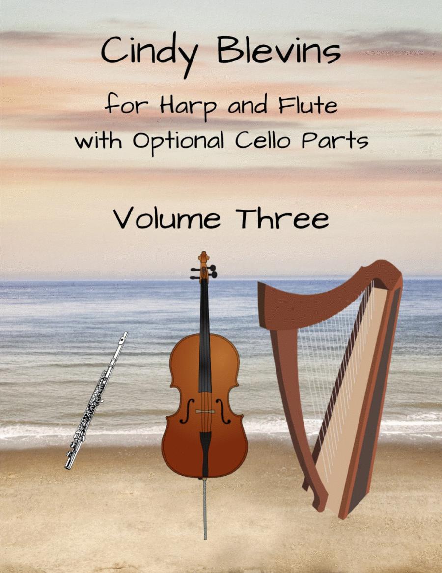 Original Music for Harp, Flute and Cello, Vol. 3 (Cello optional)