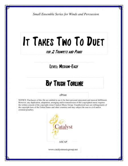 It Takes Two to Duet