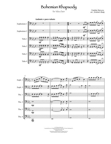 Bohemian Rhapsody for Tuba Choir
