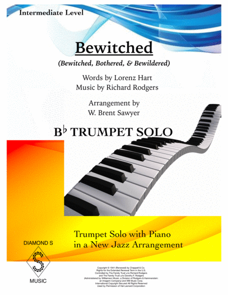Bewitched - Bb TRUMPET SOLO with Piano