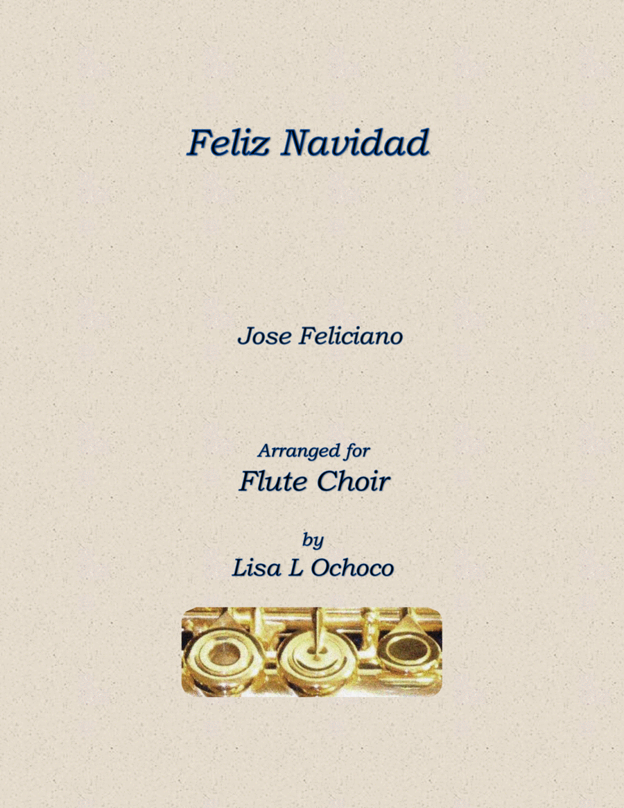 Feliz Navidad for Flute Choir