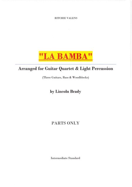 LA BAMBA - (Parts only)