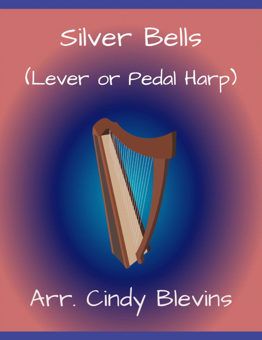 Silver Bells, arranged for Lever Harp