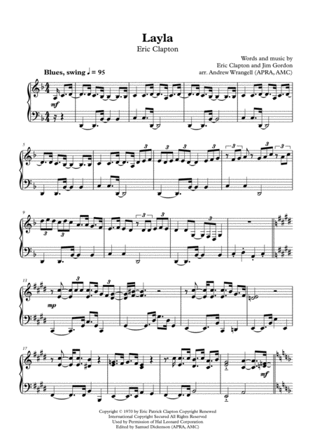 Layla (Piano)