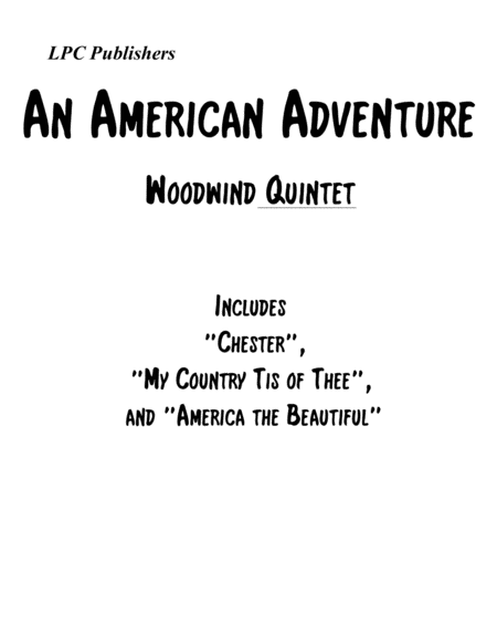 An American Adventure for Woodwind Quintet