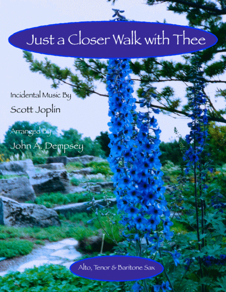 Just a Closer Walk with Thee / Solace (Woodwind Trio for Alto Sax, Tenor Sax and Baritone Sax)