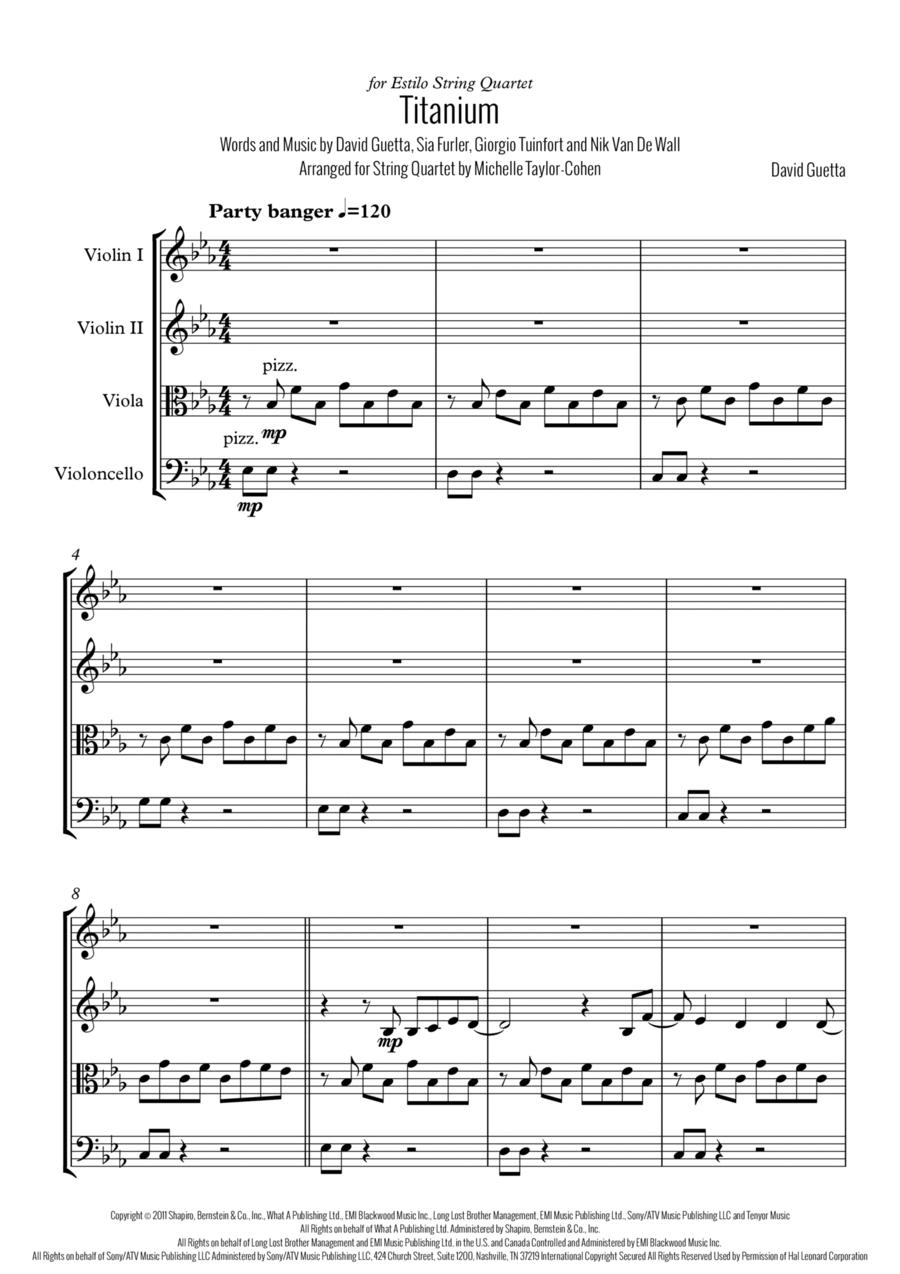Titanium (String Quartet)