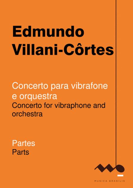 Concerto para vibrafone e orquestra (partes)