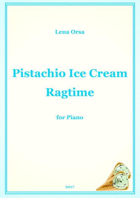Pistachio Ice Cream Ragtime
