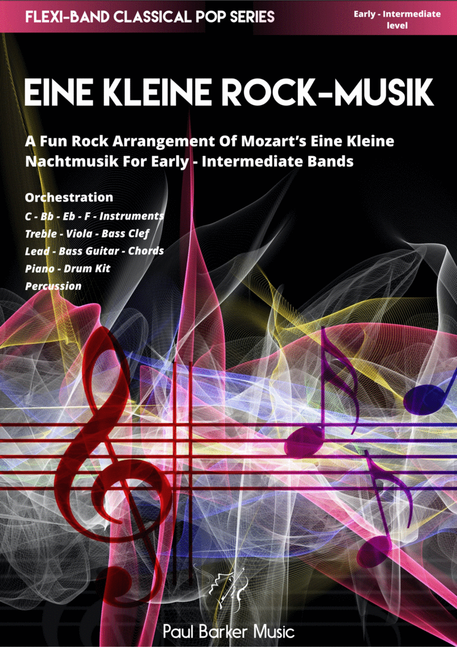 Eine Kleine Rock-Musik (Flexi-Band Score & Parts)