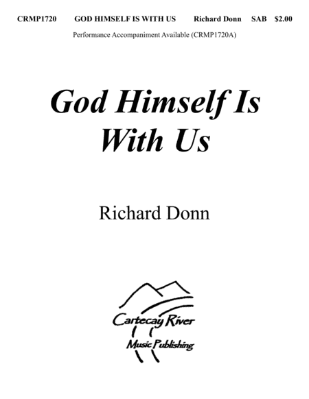 GOD HIMSELF IS WITH US for SAB Choir