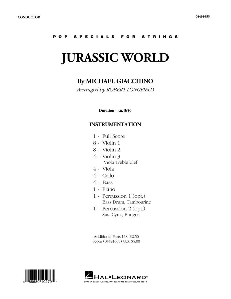 Jurassic World - Conductor Score (Full Score)