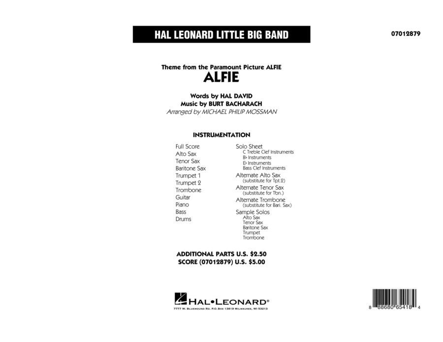 Alfie - Full Score