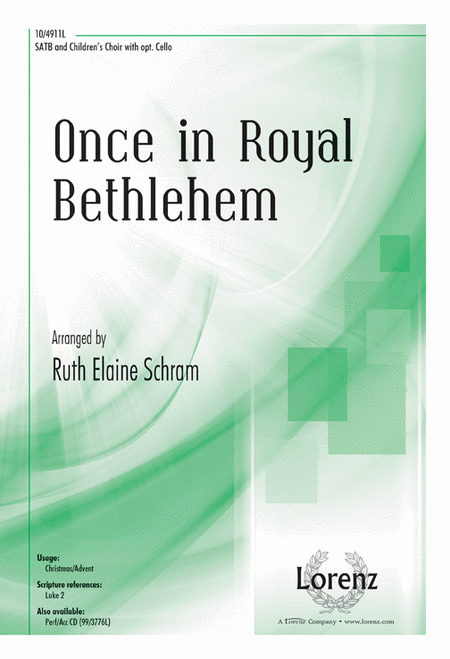 Once in Royal Bethlehem
