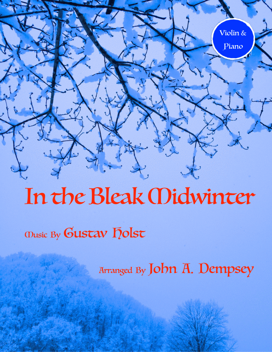 In the Bleak Midwinter (Violin and Piano Duet)