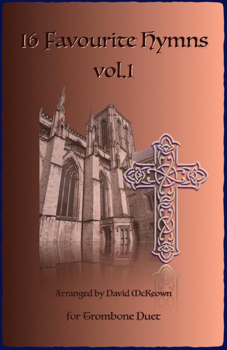 16 Favourite Hymns Vol.1 for Trombone Duet