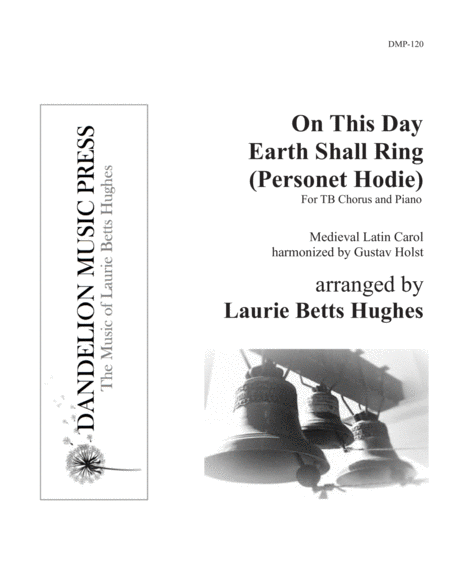 On This Day Earth Shall Ring (Personet Hodie) [Two-Part Men's Choir]