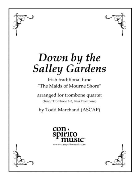 Down by the Salley Gardens - trombone quartet