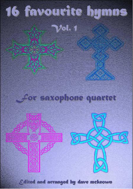16 Hymns for Saxophone Quartet (Vol 1.)