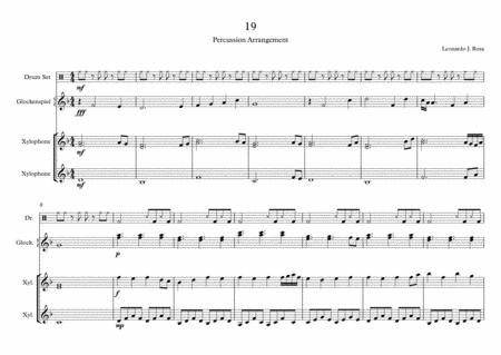 19 (Percussion)