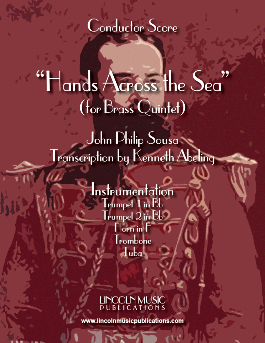 March - Hands Across the Sea (for Brass Quintet)