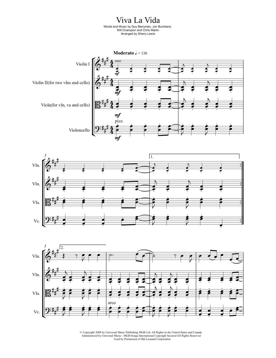 Viva La Vida String Trio