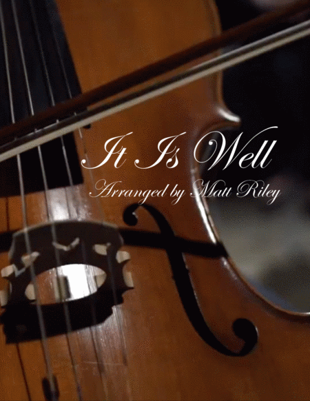 It Is Well - Piano & Cello