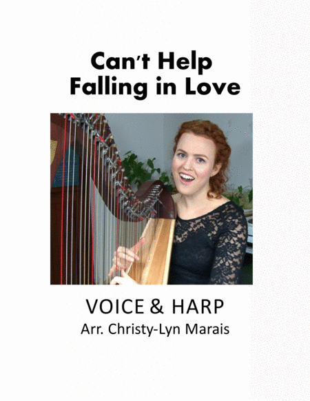 Can't Help Falling In Love (Harp & Voice) G major