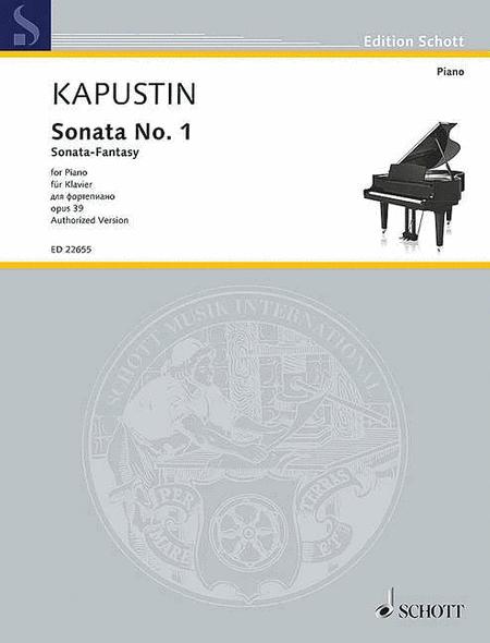 Sonata No. 1, Op. 39 (Sonata-Fantasy)