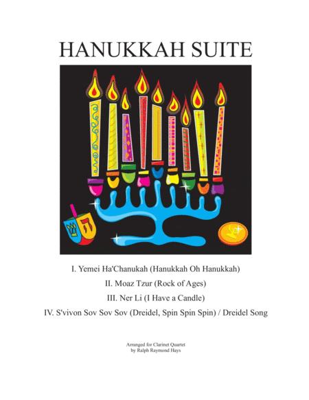 Hanukkah Suite (for Clarinet Quartet)