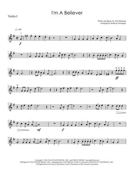 I'm A Believer - String Quartet