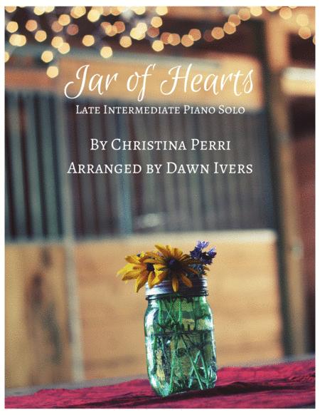 Jar Of Hearts - Intermediate Piano Solo