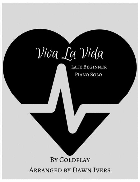 Viva La Vida - Easy Piano Solo