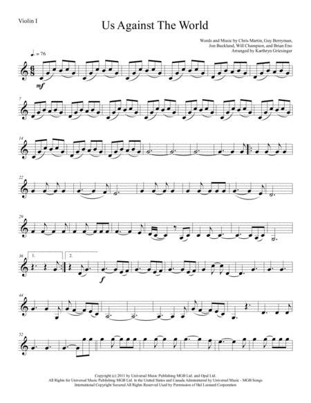Us Against The World - String Quartet