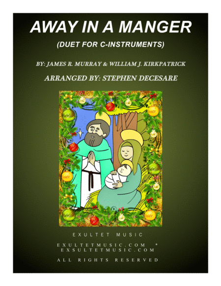 Away In A Manger (Duet for C-Instruments)