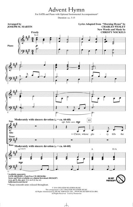 Advent Hymn