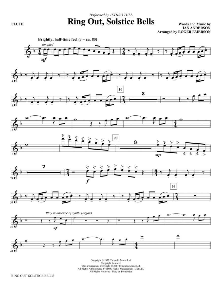 Ring Out, Solstice Bells - Flute