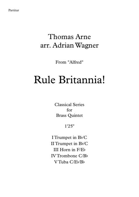 Rule Britannia! (Brass Quintet) arr. Adrian Wagner