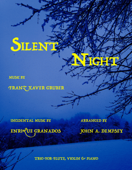 Silent Night (Trio for Flute, Violin and Piano)