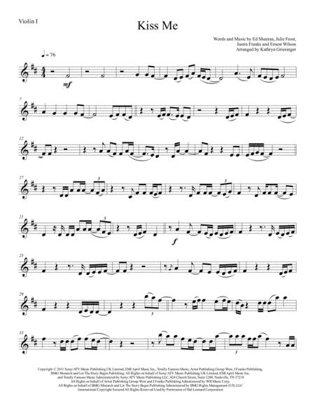 Kiss Me - String Quartet