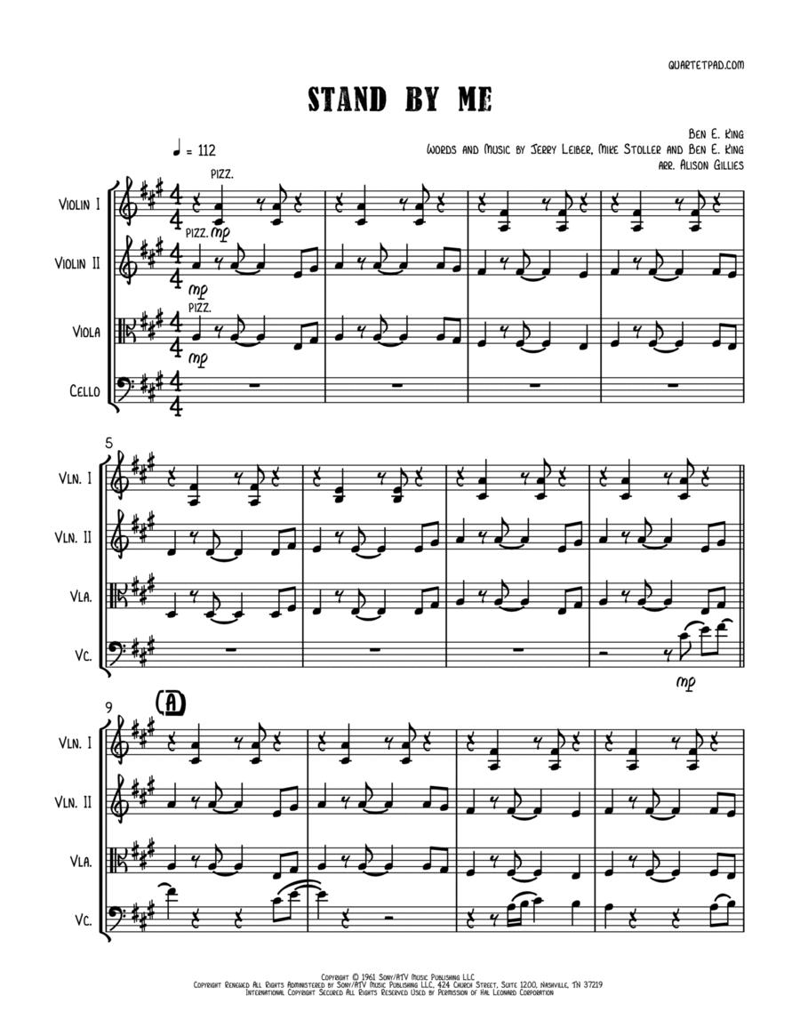 Stand By Me - String Trio (vln/vla/vc)