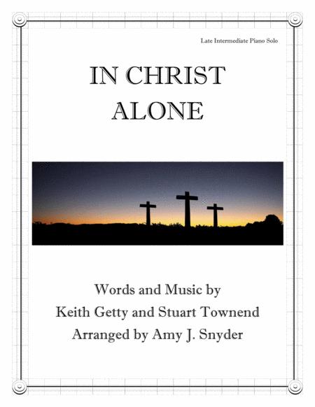 In Christ Alone, piano solo