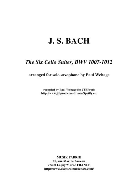 J.S. Bach: Six