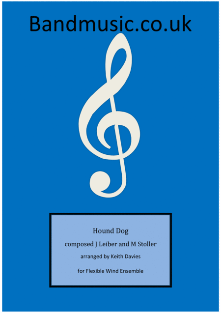 Hound Dog - Flexible Wind Ensemble