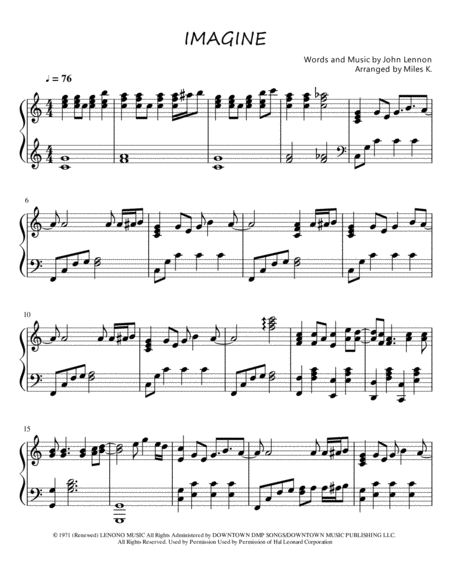piano solo sheet music pdf