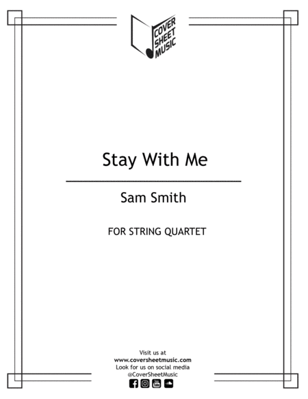 Stay With Me String Quartet