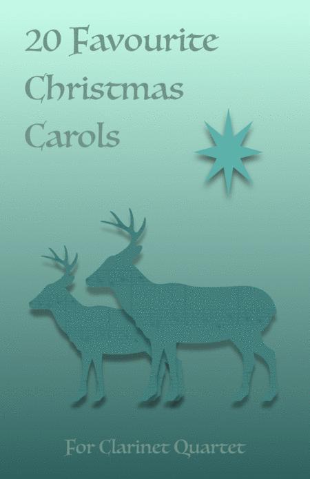 20 Favourite Christmas Carols for Clarinet Quartet